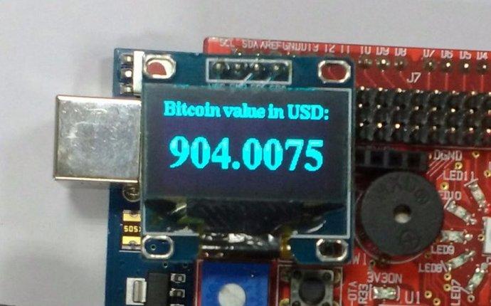 Bitcoin Price Updates - Hackster.io
