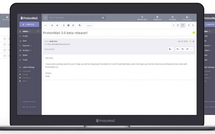 Encrypted Email Provider ProtonMail Opens to the Public, Accepts