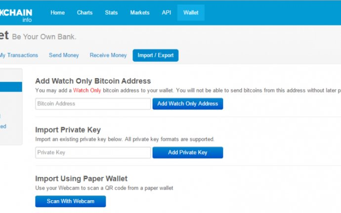 Quick Bit: Bitcoin Watch-Only Addresses | Blockchain Blog