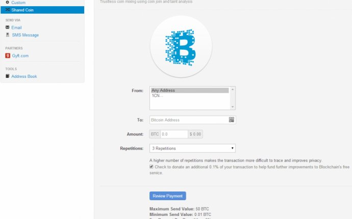 Tutorial: How to Send Bitcoins Using our Web Wallet | Blockchain Blog