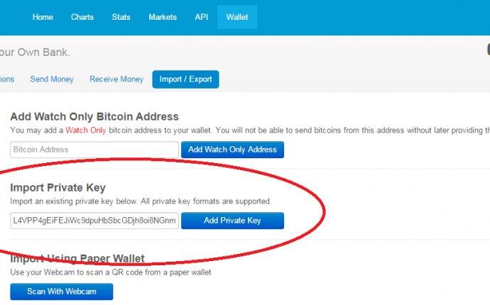 Bitcoin Wallet :: Bitcoin and Blockchain